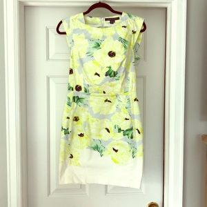 French Connection floral dress - size 4 worn once!